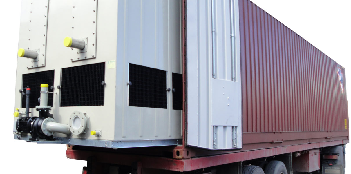 TEVA presents its new special series of cooling towers and evaporative condensers for long distance deliveries