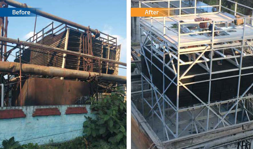 Customized cooling towers and Retrofit solutions