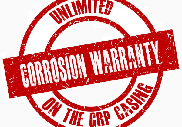 Unlimited corrosion warranty!