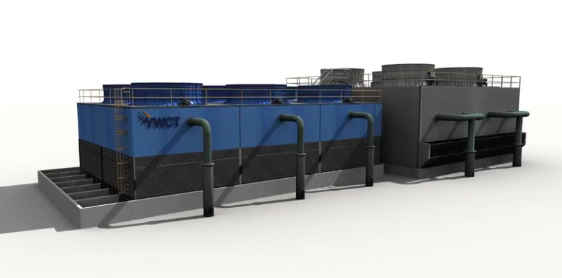 Efficient cooling tower retrofits based on 3D engineering minimizing downtime!