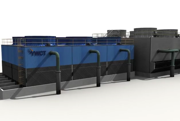 Wydajne modernizacje chłodni wentylatorowych w oparciu o technologię 3D minimalizującą przestoje!